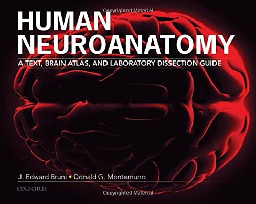 9780195371420: Human Neuroanatomy: A Text, Brain Atlas, and Laboratory Dissection Guide