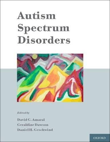 9780195371826: Autism Spectrum Disorders