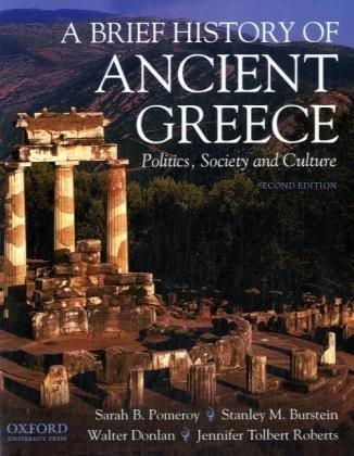 9780195372359: A Brief History of Ancient Greece: Politics, Society, and Culture