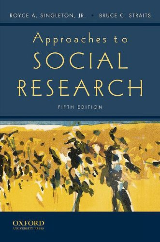9780195372984: Approaches to Social Research