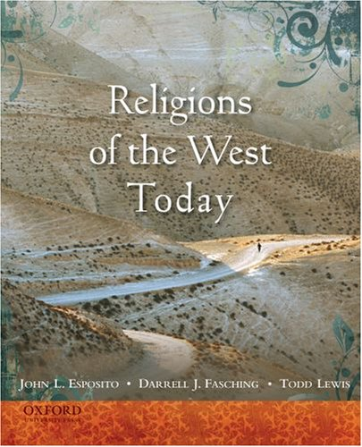 9780195373615: Religions of the West Today