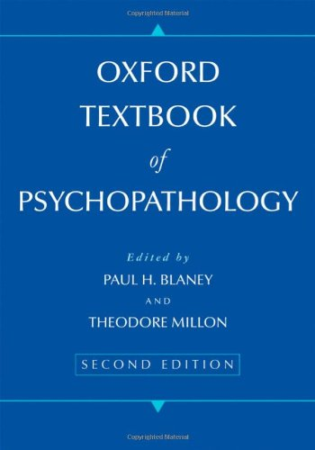 9780195374216: Oxford Textbook of Psychopathology (Oxford Series in Clinical Psychology)