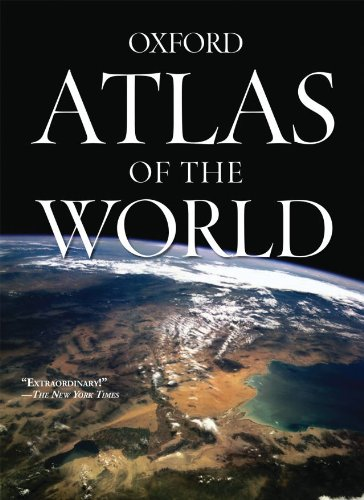 9780195374513: Atlas of the World: 15th Edition with free wall map