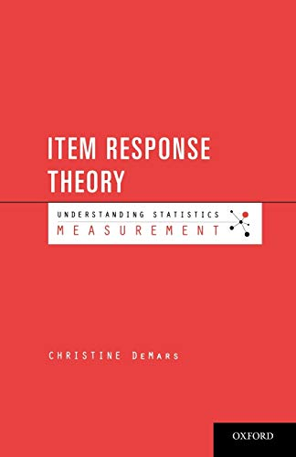 9780195377033: Item Response Theory (Understanding Statistics)