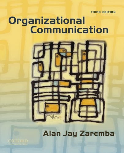9780195379044: Organizational Communication