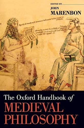 9780195379488: The Oxford Handbook of Medieval Philosophy (Oxford Handbooks)