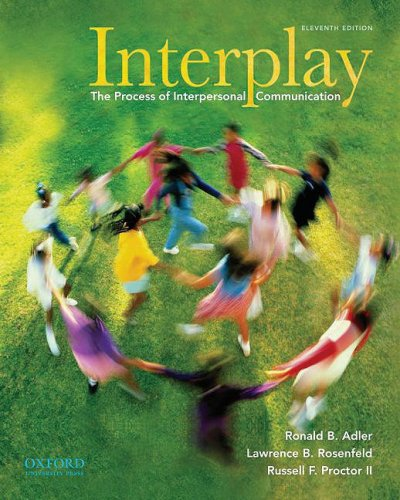 9780195379594: Interplay: The Process of Interpersonal Communication