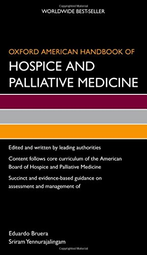 9780195380156: Oxford American Handbook of Hospice and Palliative Medicine (Oxford American Handbooks of Medicine)