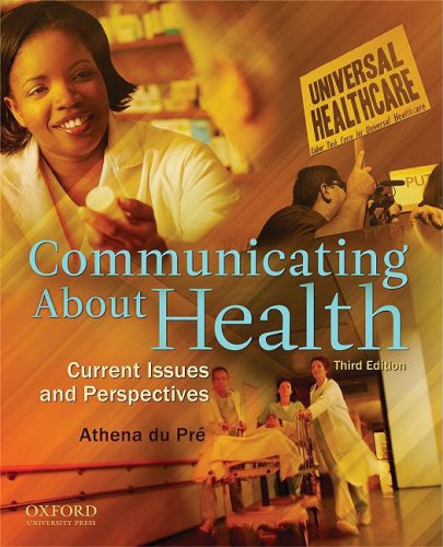9780195380330: Communicating About Health: Current Issues and Perspectives