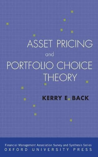 9780195380613: Asset Pricing and Portfolio Choice Theory