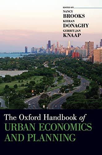 9780195380620: The Oxford Handbook of Urban Economics and Planning (Oxford Handbooks)