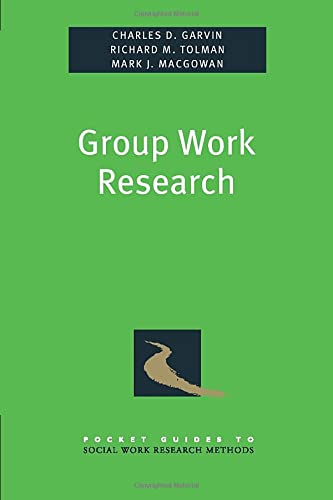 9780195381542: Group Work Research (Pocket Guide to Social Work Research Methods)