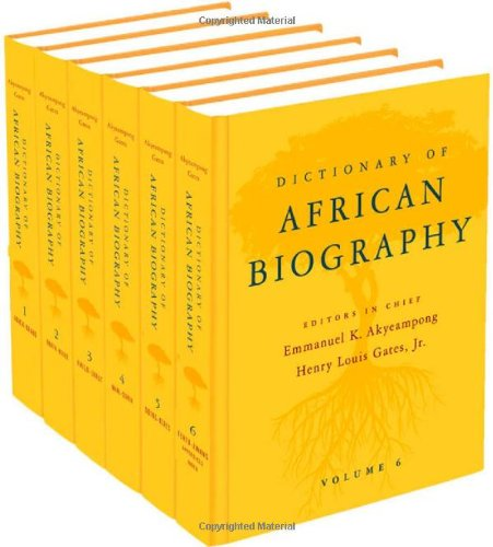 9780195382075: Dictionary of African Biography