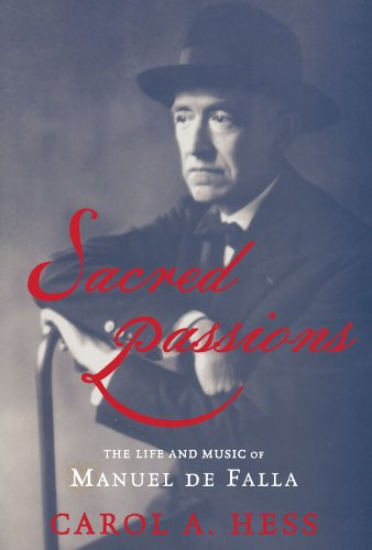 9780195383584: Sacred Passions: The Life and Music of Manual de Falla