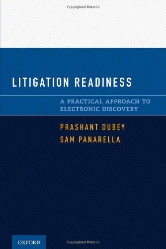 9780195384079: Litigation Readiness: A Practical Approach to Electronic Discovery
