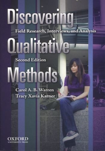 9780195384291: Discovering Qualitative Methods: Field Research, Interviews, and Analysis