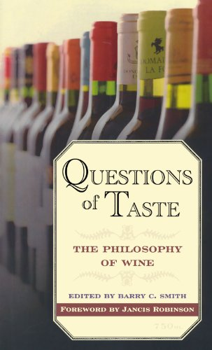 9780195384598: Questions of Taste: The Philosophy of Wine