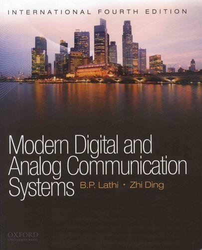 9780195384932: Modern Digital and Analog Communication Systems
