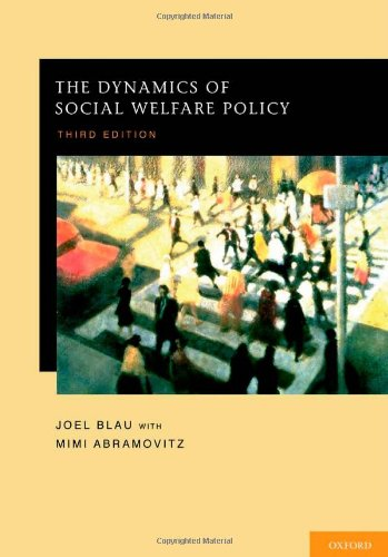 9780195385267: The Dynamics of Social Welfare Policy