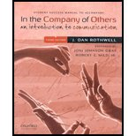 9780195385618: In Company of Others -Student Success Manual