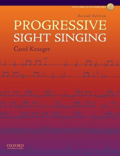 9780195386042: Progressive Sight Singing