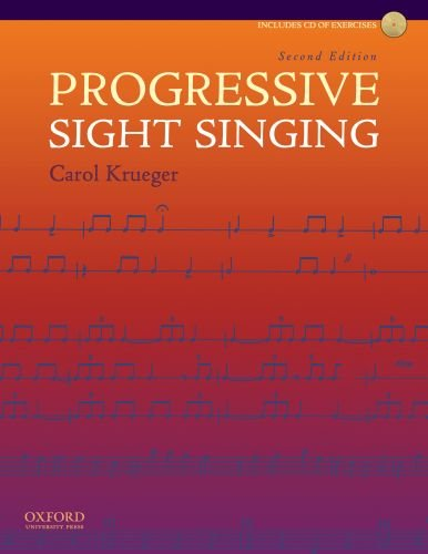 Progressive Sight Singing: Carol Krueger