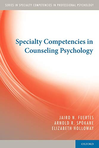 9780195386448: Specialty Competencies in Counseling Psychology (Specialty Competencies in Professional Psychology)