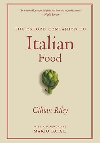 9780195387100: The Oxford Companion to Italian Food