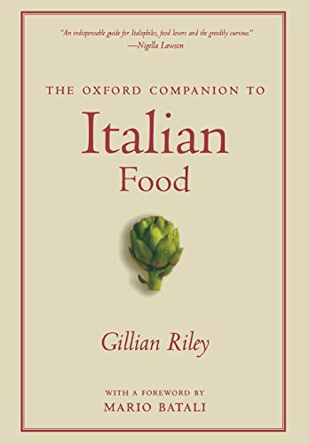 9780195387100: The Oxford Companion to Italian Food (Oxford Companions)