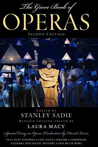9780195387117: The Grove Book of Operas