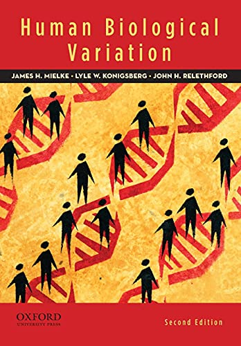 9780195387407: Human Biological Variation, 2nd Edition