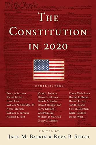 9780195387964: Constitution in 2020