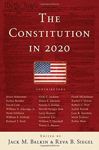 9780195387971: The Constitution in 2020