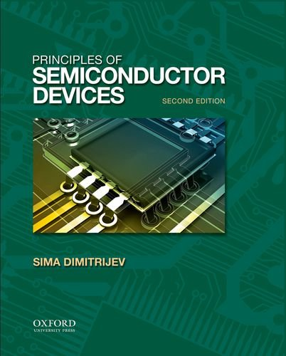 9780195388039: Principles of Semiconductor Devices (The Oxford Series in Electrical and Computer Engineering)