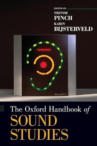 9780195388947: The Oxford Handbook of Sound Studies (Oxford Handbooks in Music)