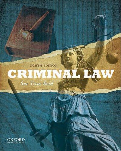 9780195389036: Criminal Law