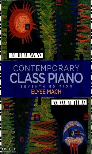 9780195389074: Contemporary Class Piano
