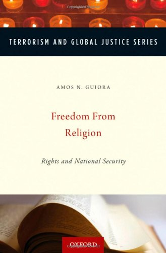 9780195389258: Freedom from Religion (TERRORISM DOC OF INT & LOCAL CONTROL 2ND)