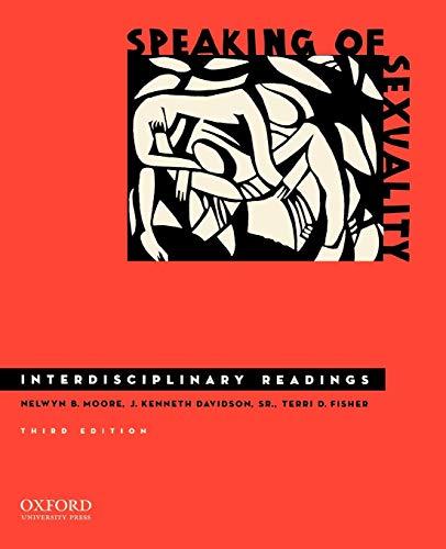 9780195389494: Speaking of Sexuality: Interdisciplinary Readings