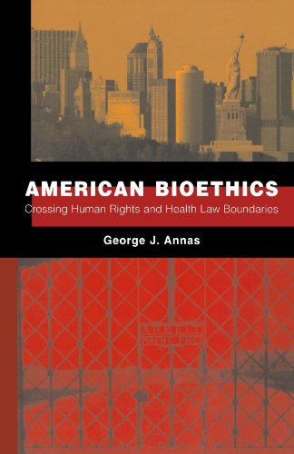 9780195390292: American Bioethics: Crossing Human Rights and Health Law Boundaries