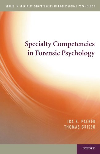 9780195390834: Specialty Competencies in Forensic Psychology (Specialty Competencies in Professional Psychology)