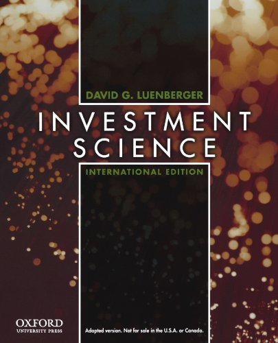 9780195391060: Investment Science, International Edition