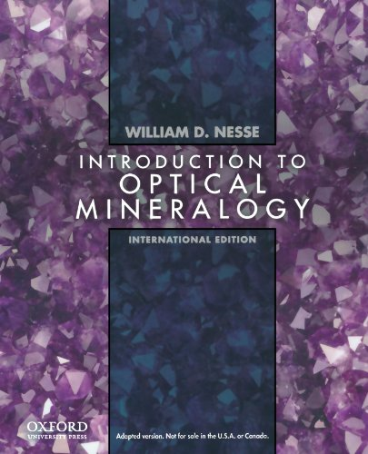 9780195391152: Introduction to Optical Mineralogy: International Edition