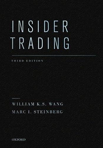 9780195391459: Insider Trading