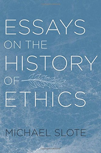 9780195391558: Essays on the History of Ethics