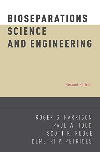 9780195391817: Bioseparations Science and Engineering