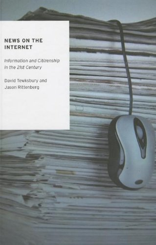 9780195391961: News on the Internet: Information and Citizenship in the 21st Century (Oxford Studies in Digital Politics)