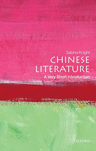 9780195392067: Chinese Literature: A Very Short Introduction