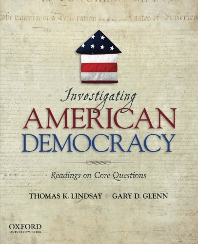 9780195392111: Investigating American Democracy: Readings on Core Questions