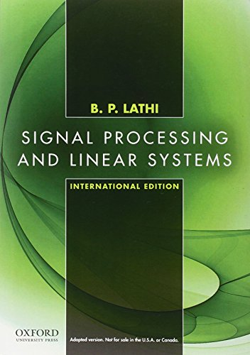 9780195392579: Signal Processing and Linear Systems, International Edition
